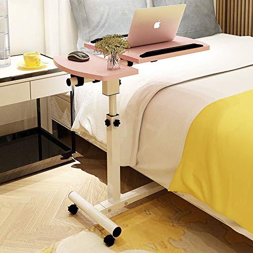 GGXX Scrivania per Laptop Regolabile in Altezza Comodino Girevole Tavolo da Pranzo con Vassoio per La Colazione con Tavolino/Sc