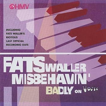 Fats Waller Misbehavin' Badly On V Disc