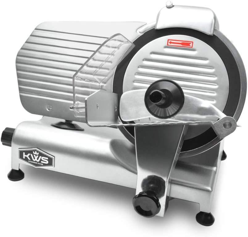 KWS MS-10NT Premium 2021 spring and summer new Commercial 320W Electric Slicer Meat 10-Inch Max 67% OFF