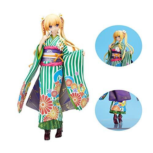 Live anime Saekano Cómo Criar Una Novia Boring Sawamura Spencer Eriri Kimono De PVC Figura 8.6in