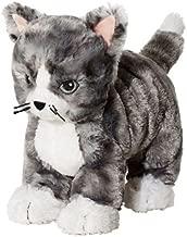 unbrand IKEA Kitty Cat Plush Stuffed Animal Soft Toy Gray White Tabby Lilleplutt New