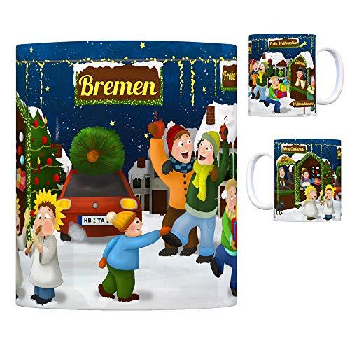 trendaffe - Bremen Weihnachtsmarkt Kaffeebecher