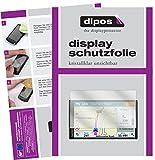 dipos I 3X Schutzfolie klar kompatibel mit Garmin DriveSmart 61 LMT-D Folie Displayschutzfolie