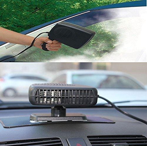 Demister - Chauffage pour voiture - 12 V - 150 W - Ventilateur pour chaud et froid - Dégivreur - Système de désembuage