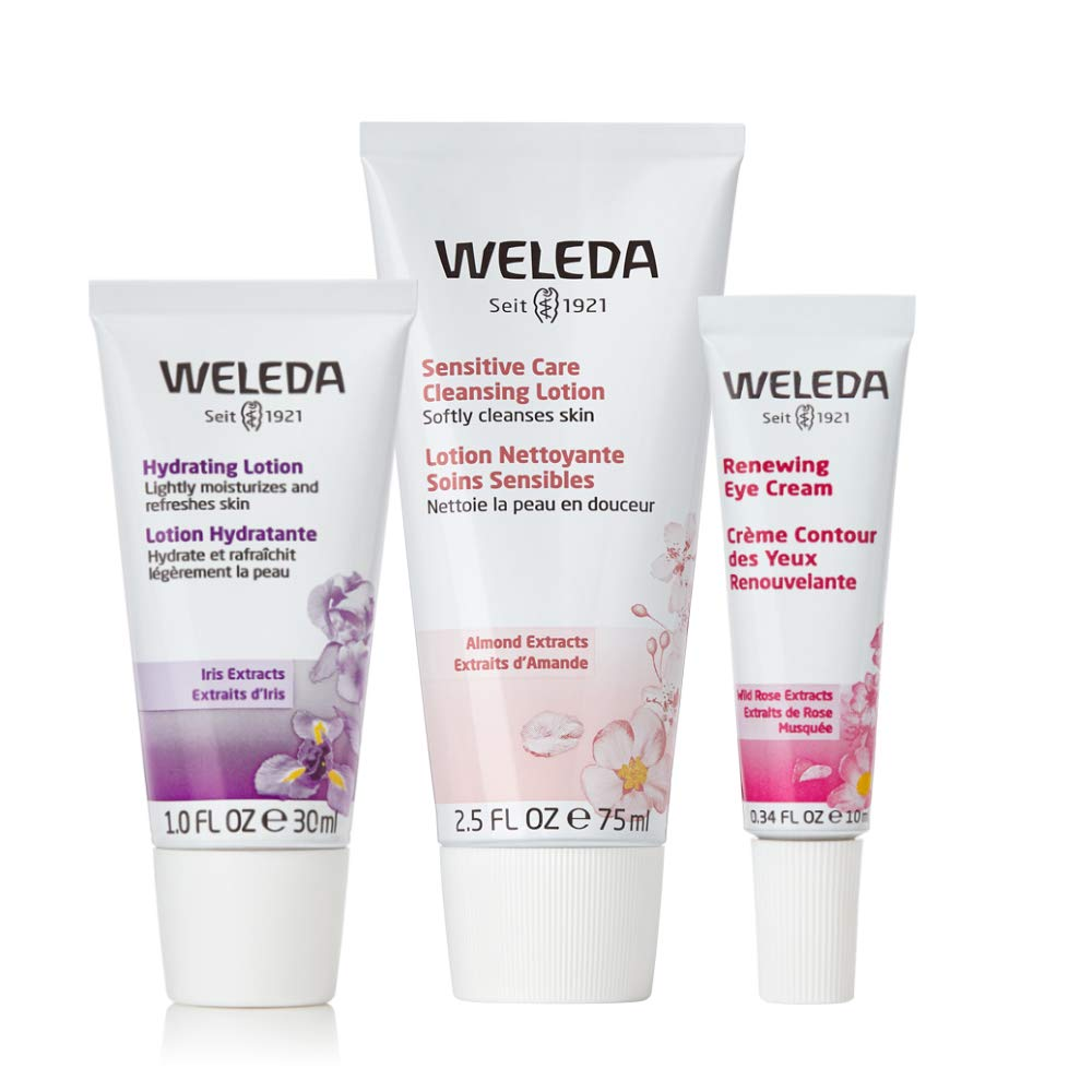 Weleda Calm and Hydrate favorite Face Collection Max 51% OFF Cleansin Sensitive Care