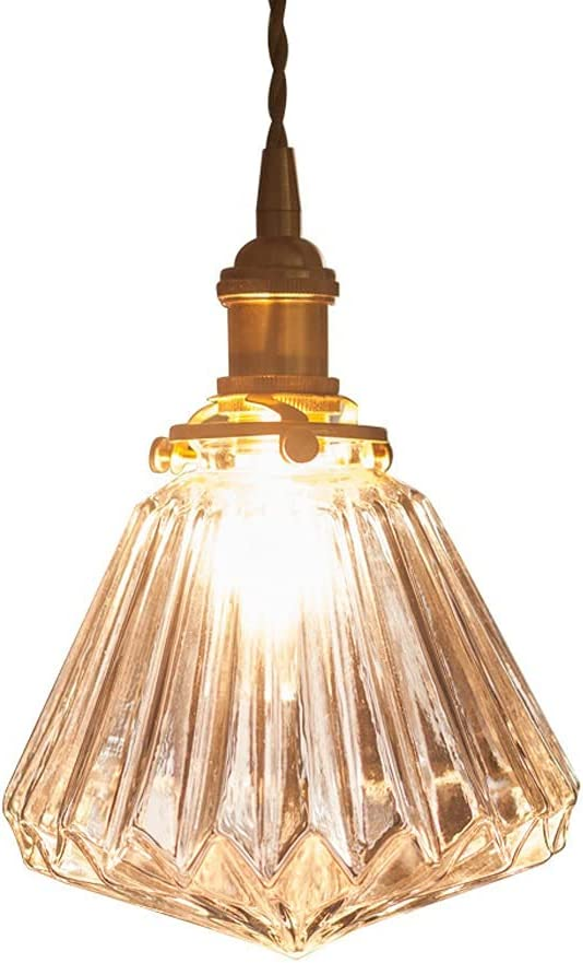 UNICODEHAPPY service Glass Pendant Light Height Brand new Chandelier Fixture