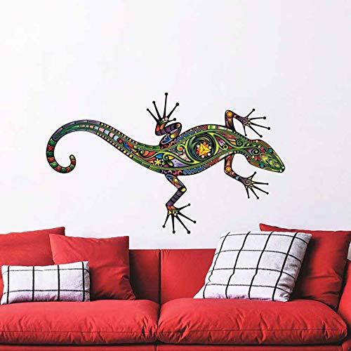 Mapa Mundi En Hogar Grandes lagartos tatuajes de pared lagarto de dibujos...
