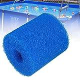 XIAOL Esponja de filtro para piscina Intex tipo H, reutilizable y lavable, 6 unidades