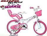 Cicli Puzone Bici 14 Minnie Dino Bikes Art. 614-NN