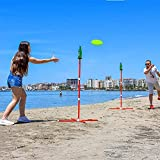Outdoor Games Flying Disc Games Toss Game for...