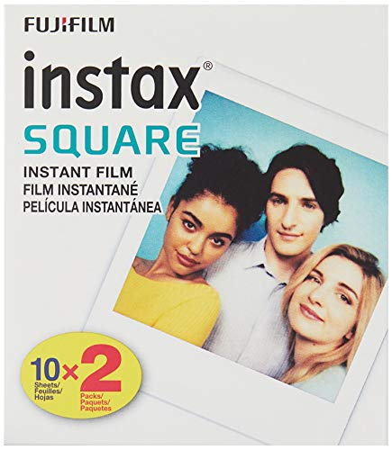 Fujifilm Instax Square Twin Pack Film - 20 Exposures