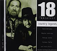 Country Legends: 18 Greatest