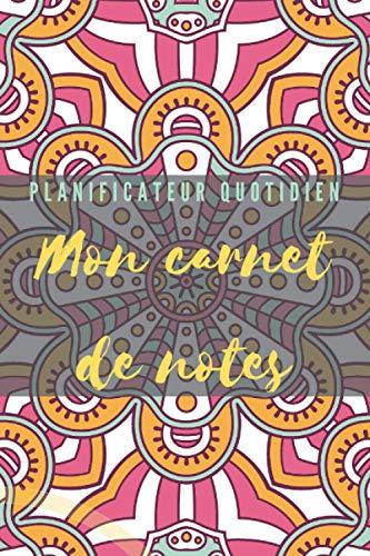Carnet de note :planificateur quotidien Couverture Tendance 2021: Format 15,54 cm x 23,46 Mon carnet de notes Edition New champion Nouveau design Floral Novembre 2020
