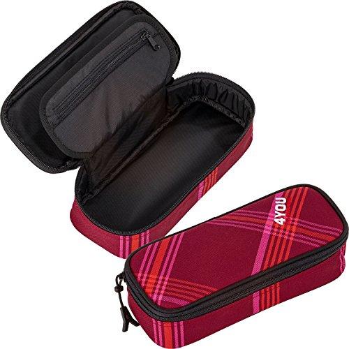 4YOU Zusatztasche Igrec Hardcase Pink (Checker Red Pink) 12390064300