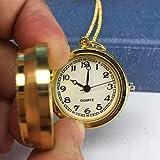 J-Love Reloj de Bolsillo con Collar Giratorio
