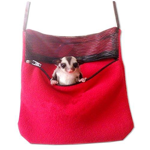 WINOMO Haustier Tasche Ratte Hamster Maus Eichhörnchen Chinchilla Igel ausgehende Tragetaschen Rucksack Tasche Reisetasche