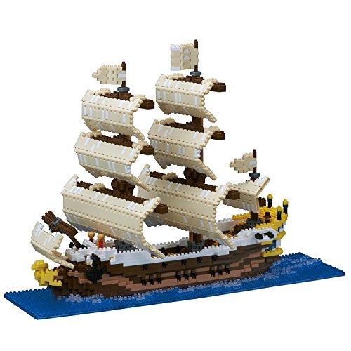 カワダ(Kawada) ナノブロック 帆船 2500ピース NB-030