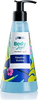 Plum BodyLovin' Hawaiian Rumba Shower Gel (Body Wash) | All Skin Types | Beachy/Aqua | Sulphate & Paraben Free | 100% Vega...
