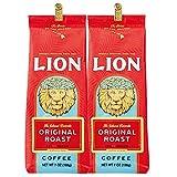 ライオンコーヒー オリジナルライオン 198g(粉) (2個)