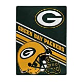 The Northwest Company NFL Green Bay Packers Slant Silk Touch Throw Blanket, 60' x 80'