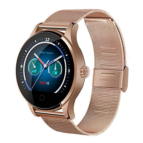 Kuangbin Smart Watch for Women,K88H Smart Watch for Android Phones and iPhones Smart Watches for Girls with Heart Rate Monitor Compatible with Android iOS