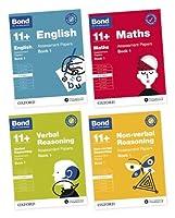Bond 11+ English, Maths, Verbal Reasoning, Non Verbal Reasoning: Assessment Papers: 9-10 Yrs Bundle
