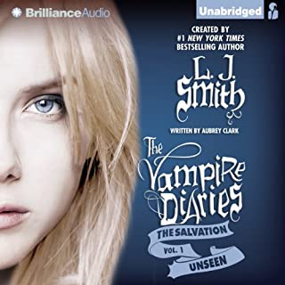 Unseen     The Vampire Diaries: The Salvation, Book 1              By:                                                                                                                                 L. J. Smith,                                                                                        Aubrey Clark                               Narrated by:                                                                                                                                 Amy Rubinate                      Length: 6 hrs and 56 mins     36 ratings     Overall 3.9