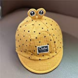 Sombrero de bebé Primavera y otoño Gorra de Pico bebé Delgado Verano sombrilla niño recién Nacido Sombrero para el Sol niño de ala Suave niño