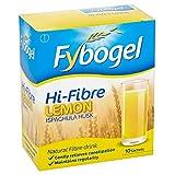 Fybogel Natural Hi-Fibre Lemon Fibre Drink Sachets, Pack of 10