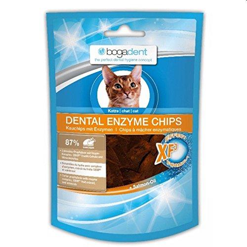 Bogadent Dental Enzyme Chips mit Huhn - Katze 50 g