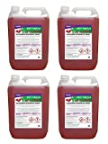 4 x 5 Litre Cherry Fragrance Pet Kennel Disinfectant and Deodoriser