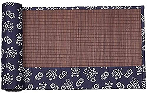 New life Table runner Bamboo Runner Roll-up Bombing free shipping for Everyday Use Eco-f