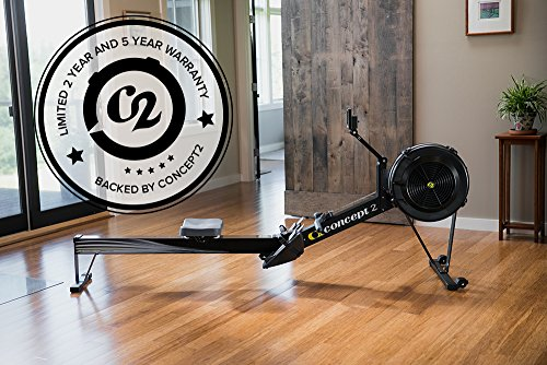Concept 2 Model D Indoor Rower with PM5 Monitor, Black