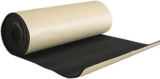 uxcell 394mil 10mm 16.36sqft Car Hood Tailgate Heat Insulation Foam Sound Deadener Mat Replacement 60x40 Inches
