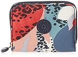 Kipling Money Love - Cartera RFID para mujer, Multi (Urban Jungle Rojo), Talla única