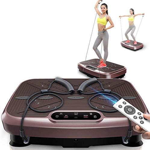 WEIZI Vibrationsplatte Power Board Vibrationstrainer Fitness Vibration Maschine oszillierende Plattform Ganzkörper-Schütteln für Trainer Übung Workout Home Gym