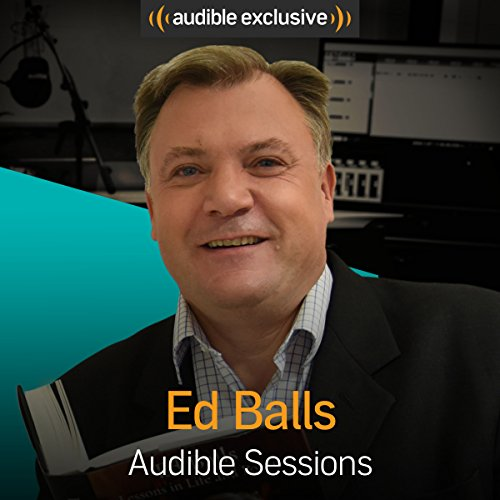 Ed Balls audiobook cover art