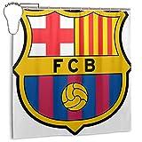 FAVIBES Barca Surabaya Indonesia Feb 2018 Barcelona Fc Professional Football Club Based in Catalonia Spain Brand,Home Decoration Shower Curtain 72inX72in