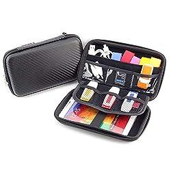 small Hardshell Diabetes Travel Organizer Bag, Organizer Bag for Blood Glucose Monitoring System, …