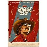 KONGQTE Dallas Buyers Club (2013) Filmplakat Leinwanddruck