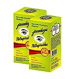 Jiwadaya Netraprabha Plus Ayurvedic Herbal Eye Drops for Dry Eyes, Conjunctivitis, Swelling, Irritation, Tearing, Refreshing, Strained Eyes etc Organic Honey Base, Green, 10ml, Pack of 2