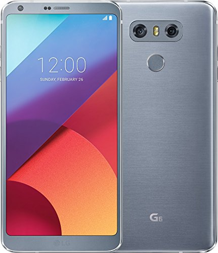 LG G6 Smartphone (14,47 cm (5,7 Zoll) Display, 32 GB Speicher, Android 7.0) Platinum