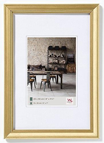 Walther design JA520G Bilderrahmen Lounge, 15 x 20 cm, gold