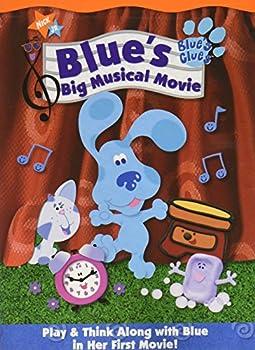 DVD BLUE'S CLUES: BLUE'S big musical movie Book