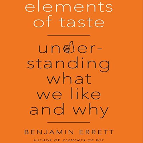 Elements of Taste audiobook cover art