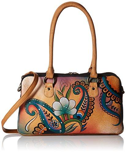 Buckle Satchel Handbag - 8