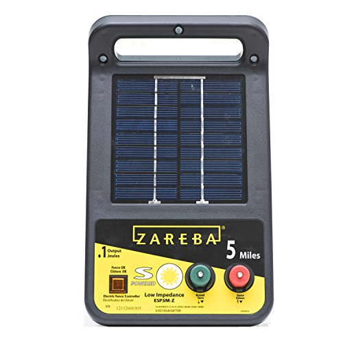 Zareba ESP5M-Z 5-Mile Solar Low Impedance Electric...