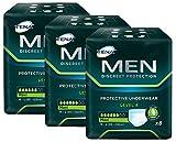 Tena men Level 4–Protection Sous-vêtements jetables pour hommes avec moyenne à forte Incontinence Urinaires/– Absorbant & discret–24Protège-Slips (3x 8pièces)–Pack Avantage