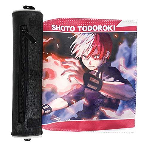 CoolChange My Hero Academia Federtasche, Manga Federmäppchen, PU Leder, Motiv: Shoto Todoroki