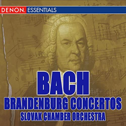 Slovak Chamber Orchestra, Oliver Dohnanyi & Johann Sebastian Bach